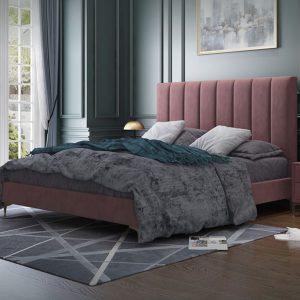Giường Bọc Da GD2001 Sang Trong, Màu Sắc Tùy Chọn Theo Yêu Cầu