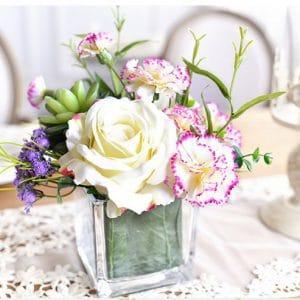 Hoa Lụa Đẹp Giá Rẻ Trang Trí Bàn Trà, Bàn Ăn Cho Gia Đình |Nội Thất Đương Đại