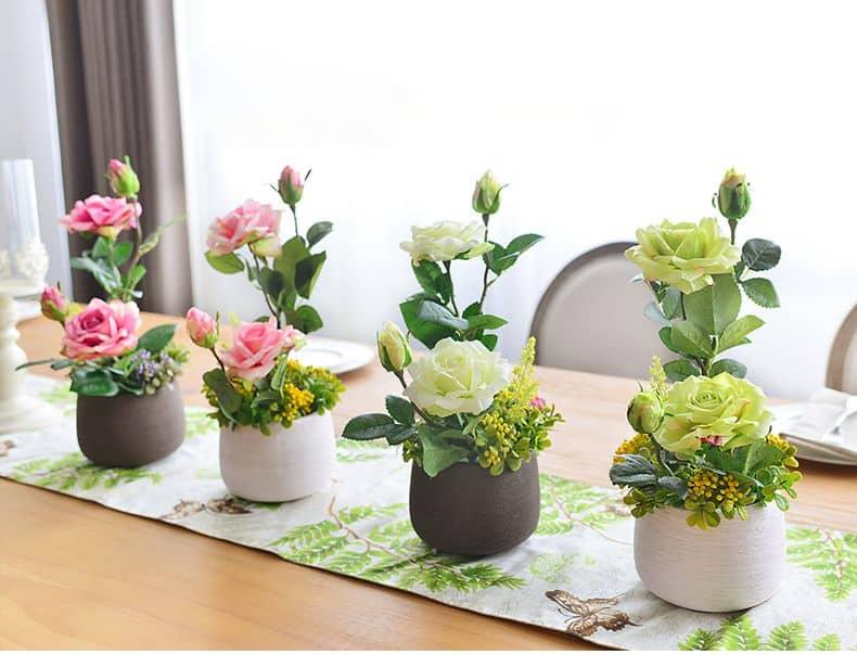 Bình hoa mini - Bộ sưu tập bình hoa mini tuyệt đẹp để bàn làm việc