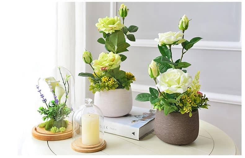 Kết quả hình ảnh cho lọ hoa mini trang trí