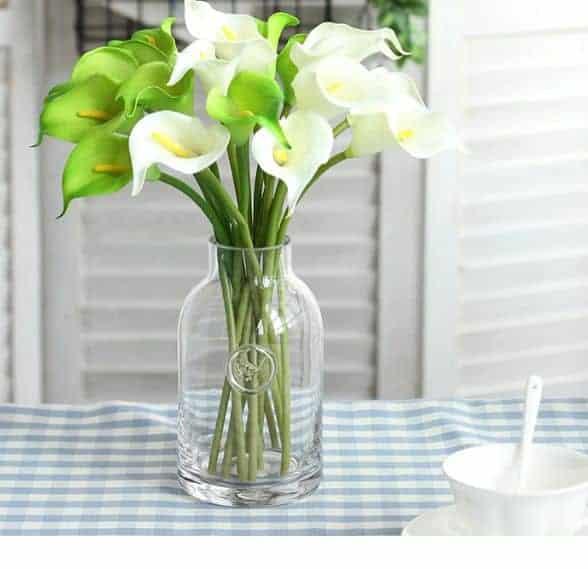 Hoa Lụa Hà Nội Đẹp Giá Rẻ, Nhiều Màu Sắc Cho Phòng Khách |Nội Thất Đương Đại