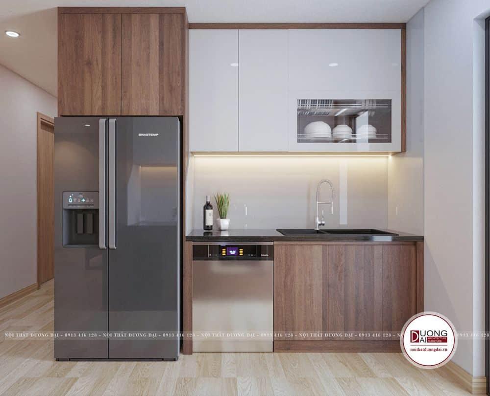 Thiết kế phòng bếp chung cư Thống Nhất Complex