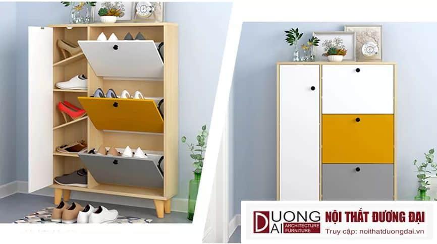 Tủ Giày Thông Minh Bằng Gỗ Công Nghiệp GHS-5535 Đẹp