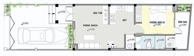Tư Vấn Thiết Kế Nhà Cấp 4 Chỉ 400 Triệu Đồng |Nội Thất Đương Đại