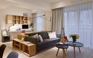 Cải Tạo Căn Hộ 2 Phòng Ngủ Cho Cặp Đôi Mới Cưới Tiết Kiệm Chi Phí |Nội Thất Đương Đại