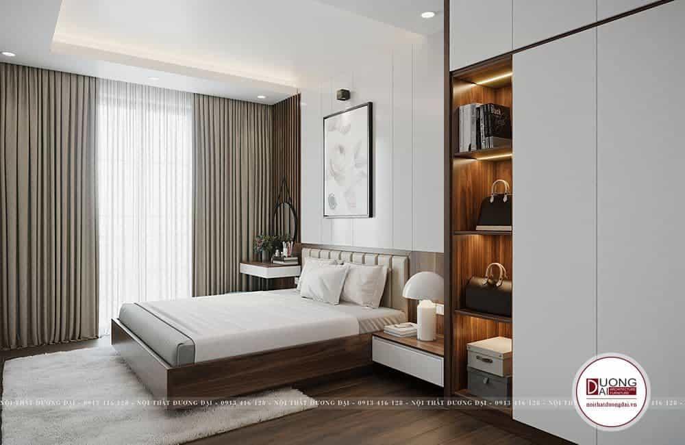 Thiết Kế Nội Thất Nhà Phố Tại Hà Nội |CĐT: Chú Hồng 40m2/sàn 2 Tầng |Nội Thất Đương Đại
