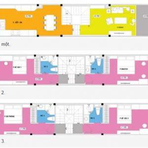 Tư Vấn Thiết Kế Kiến Trúc Nhà 3 Tầng 50m2 (5x10m) Phong Cách Hiện Đại