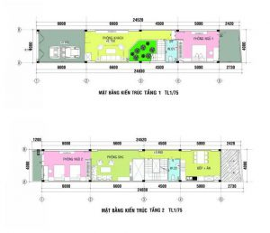 Tư Vấn Thiết Kế Kiến Trúc Nhà Ống 96m2 4 Tầng (4x24m) Cho Gia Đình 3 Thế Hệ |Nội Thất Đương Đại