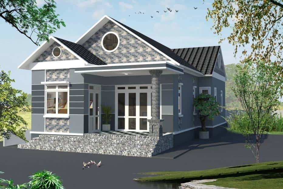 Nhà Mái Thái Đẹp 2020  20 Mẫu Thiết Kế Xuất Sắc Nhất Năm
