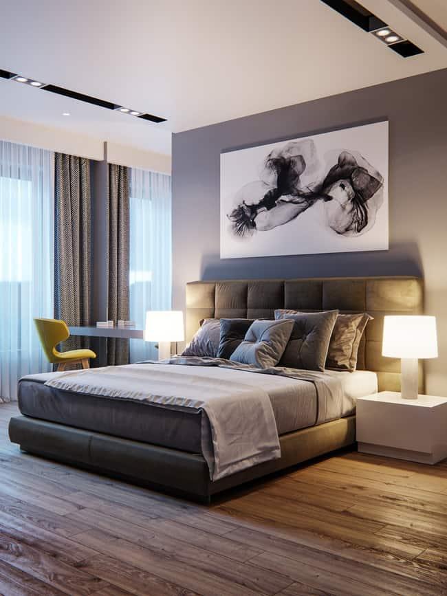 Phòng ngủ đẹp với không gian rộng thoáng