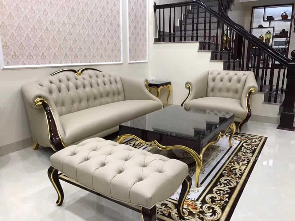 50++ Mẫu bàn ghế sofa phòng khách đẹp, sang trọng cho bạn lựa chọn