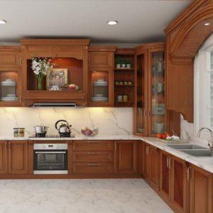 Tủ Bếp Gỗ Căm Xe | Báo Giá Tủ Bếp Gỗ Căm Xe Mới Nhất