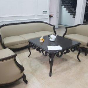 [17/12/2019] Bộ Bàn Ghế Sofa Da Phòng Khách | Bàn Giao Cho Chị Hoa Ở Phú Thọ