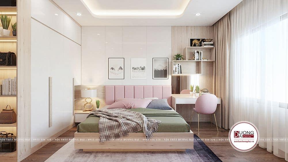 Thiết kế nội thất phòng ngủ cho con đẹp mắt