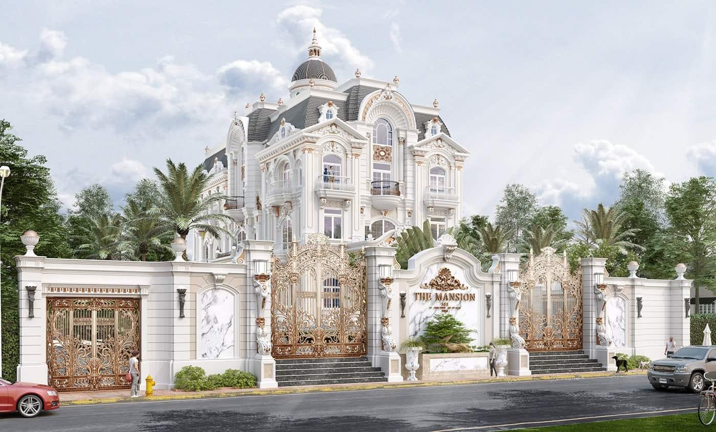 Biệt Thự Cổ Điển Pháp |10+ Mẫu Thiết Kế Đẹp Nhất Năm