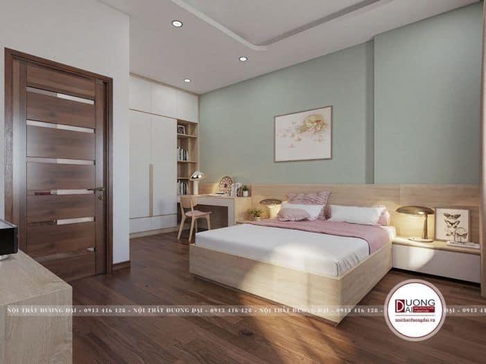 cách bố trí nội thất phòng ngủ cho bé