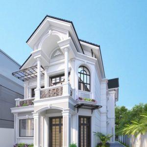 Nhà Mái Thái 2 Tầng 4 Phòng Ngủ Đẹp, Trọn Gói Nội Thất