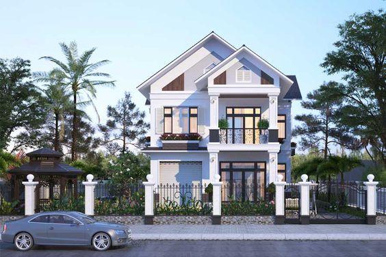 nhà phố đẹp, thiết kế hiện đại