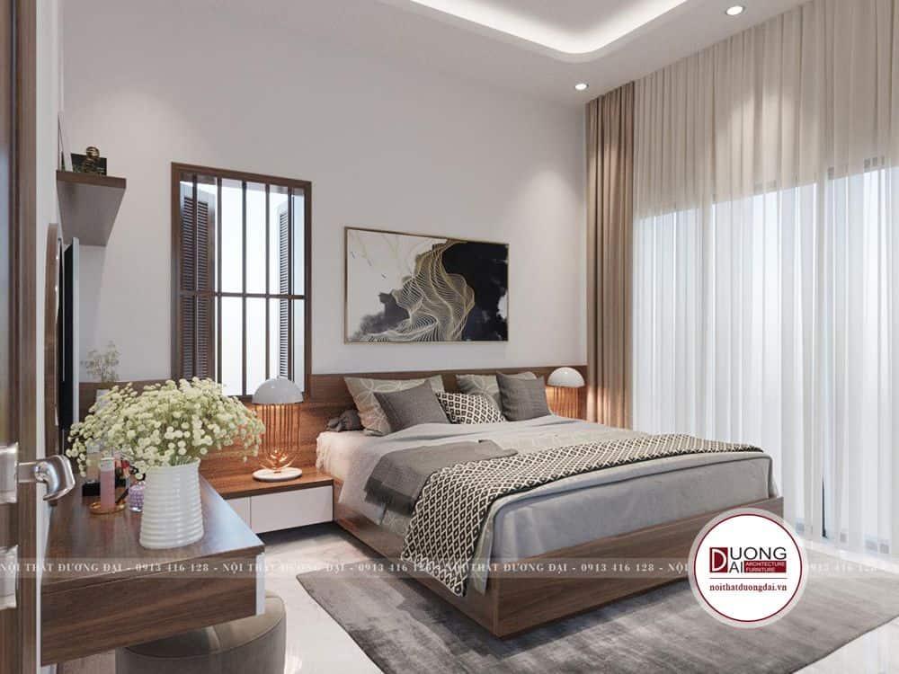 Thiết kế với sự gọn gàng và tối giản đồ nội thất