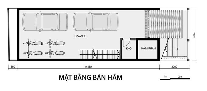 Nhà Ống 3 Tầng 5x15m 4 Phòng Ngủ Hiện Đại, Sang Trọng