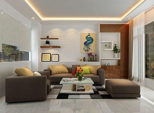 Không gian nội thất đẹp một cách đơn giản và ấn tượng