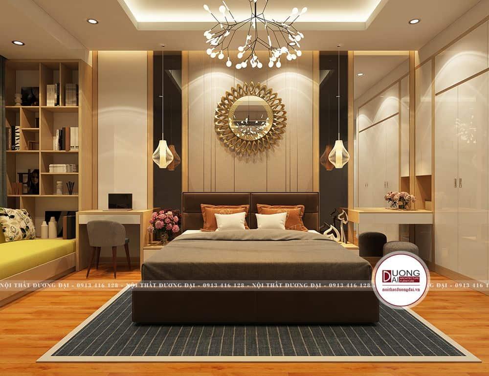 Thiết kế không gian phòng ngủ master bố mẹ