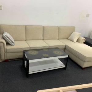 [13/02/2020] Sofa Góc Nỉ Giá Rẻ | Bàn Giao Cho Cô Trâm Ở Hoài Đức Hà Nội