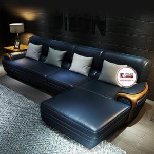 Sofa Da Góc Cao Cấp- SKYGD1001