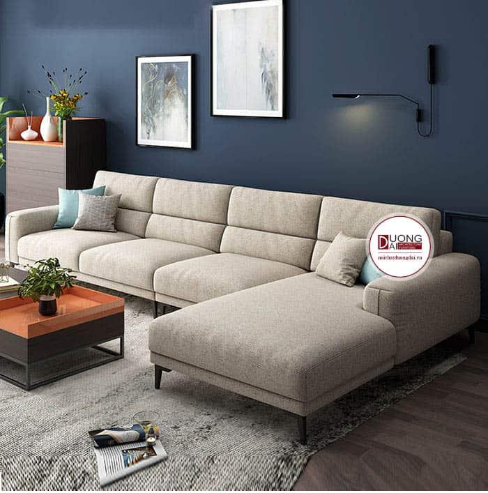 Sofa Góc Đẹp Cho Phòng Khách Nhỏ- SKYGN1015