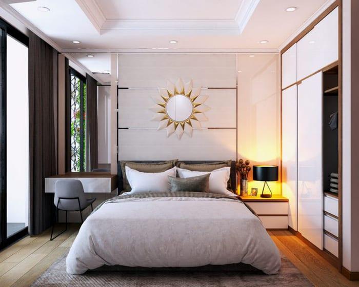 Thiết Kế Phòng Ngủ Có Tủ Âm Tường- Sáng Tạo Nội Thất Ấn Tượng
