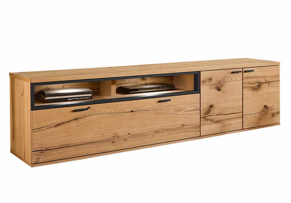 Thiết kế kệ tivi siêu đẹp với màu gỗ tần bì nâu nhạt