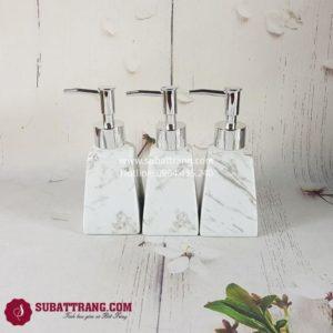 Bình Xịt Xà Phòng Men Đá Dáng Thang - SBT110132