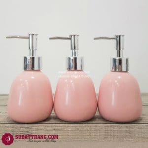 Bộ 3 Bình Dầu Gội Sữa Tắm Dáng Trứng - SBT110082