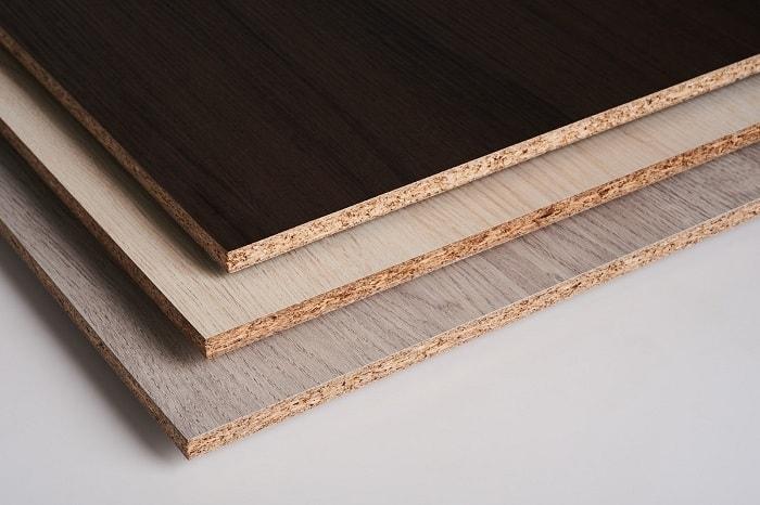 Gỗ MFC với cốt gỗ ván dăm phủ Melamine