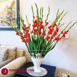 Lọ Hoa Bàn Tay Phật Trắng Size Nhỏ - SBT30165