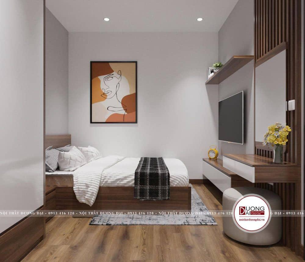 Thiết kế phòng ngủ của bé gái trang nhã