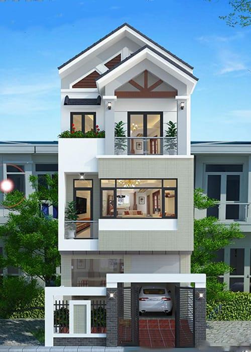 Tư Vấn Thiết Kế Nhà 3 Tầng 6x11m Hiện Đại Với Chi Phí 800 Triệu Đồng