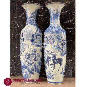 Lộc Bình Song Hạc Bát Tràng - 70071
