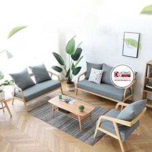 Sofa gỗ cafe - ATFCF201