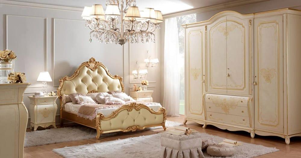 Phòng ngủ tân cổ điển siêu thanh nhã và quý phái