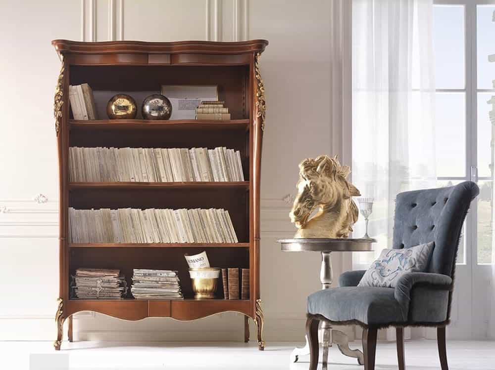 Thiết kế tủ sách nhỏ gọn nhưng đầy trang nhã