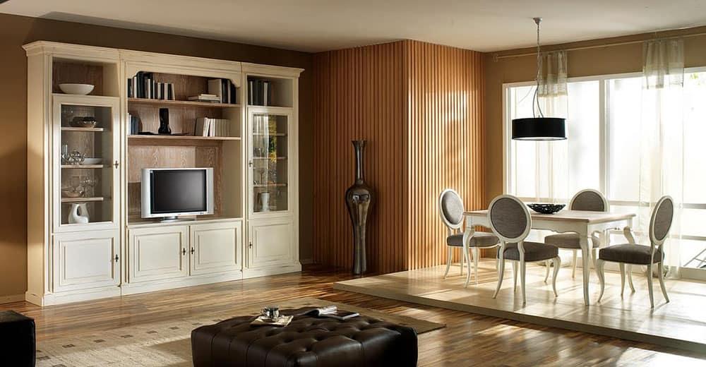 Mẫu tủ đa năng kết hợp kệ tivi cho phòng khách