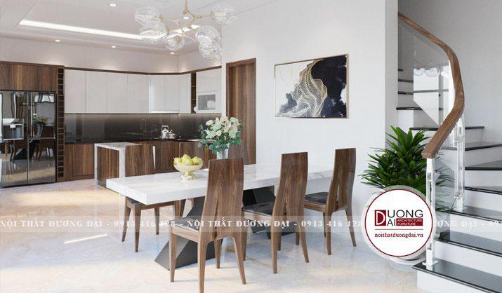 Thiết kế phòng bếp giúp bạn có không gian ấm cúng và tiện trong việc sinh hoạt