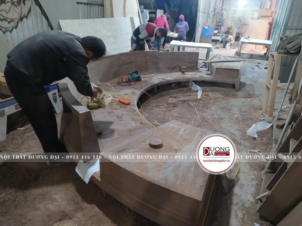 Nội Thất Đương Đại có xưởng nội thất để sản xuất sản phẩm và quản lý chất lượng đầu ra.