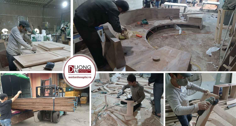 Xưởng sản xuất nội thất trọn gói