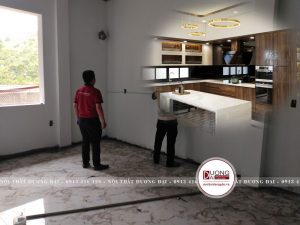 Khảo sát phòng bếp cho khách hàng